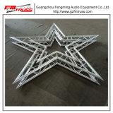 Sistema de diseño especial braguero de estrellas y la forma de la estrella de aluminio Sistema de iluminación del braguero