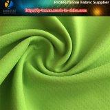 Ткань Spandex шотландки Twill жаккарда полиэфира с Upf30+ для рубашки и одежды (R0138)