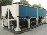 охлаженный воздухом охладитель винта 100ton для оборудования кондиционирования воздуха