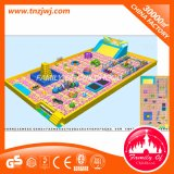 Лабиринт игры крытой игрушки оборудования спортивной площадки мягкий
