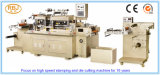 Machine de découpage d'étiquette à plat avec Rewinder de rebut