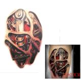 Etiquetas engomadas temporales impermeables del tatuaje de la pierna de moda de la máquina 3D