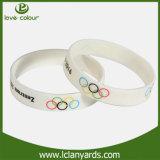 صنع وفقا لطلب الزّبون نطاق سليكون رياضيّ لعبة أولمبيّة سليكوون [وريستبند] لأنّ يبيع