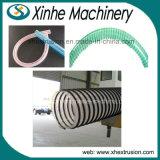 Cadena de producción espiral del manguito del PVC estirador del plástico del tubo de /64-200mm