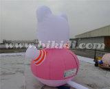 K2095 광고를 위한 귀여운 Ketty 팽창식 Cate 만화 풍선