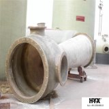 Garnitures de pipe installées faciles de FRP/fibre de verre - bride