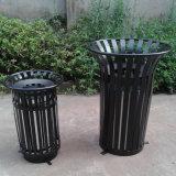 Balde do lixo ao ar livre decorativo para a cidade (HW-98)