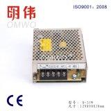 Wxe-35s-2 AC/DCのコンパクトな単一の出力閉鎖LED切換えの電源