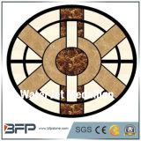 Testes padrões redondos de mármore do assoalho do medalhão do assoalho de telha do mosaico da alta qualidade