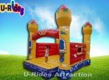 Videur gonflable de jouet gonflable plein d'entrain de château d'enfants avec la glissière