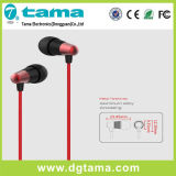 3.5mm 에서 귀 iPhone Samsung를 위한 베이스 입체 음향 헤드폰 이어폰 Earbuds