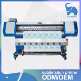 Impresora de sublimación de tinte de las cabezas de impresora Dx5 de la certificación el 1.8m del Ce