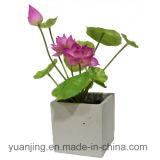 Bloem van de Zijde van Lotus van de decoratie de Kunstmatige Waterdichte