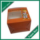 Caixa de cartão ondulado com punho