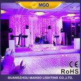 DJの照明は白い結婚式Starlit LEDのダンス・フロアライトをつける
