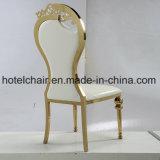 의자를 식사하는 왕 로즈 금 디자인 스테인리스