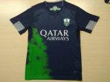 2016 2017 al-Ahli Saoedi-arabische FC Zwarte Jerseys
