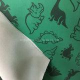 Textildruck-PU beschichtetes gestricktes Kleid-Gewebe