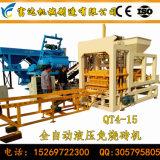 Bloc concret complètement automatique de la colle du circuit Qt4-15 hydraulique faisant la machine