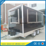 Vrachtwagens van het Voedsel van de Keuken van de Kar van het voedsel de Mobiele voor Verkoop in China