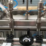 Automatische reinigende Flüssigkeit-füllende mit einer Kappe bedeckende Maschine
