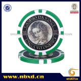 microplaqueta do póquer da etiqueta 11.5g com etiquetas disponíveis, Sy-D17A-1