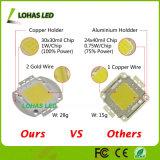 3V-12V 30-34V hohe Leistung 10W 20W 30W 50W 100W wärmen weißes kaltes PFEILER Chip Weiß RGB-LED