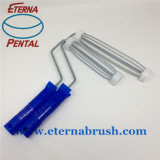 7 spazzole del tessuto del rullo di vernice del poliestere '' &9 '' con la banda blu