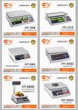 Escala de computação do preço eletrônico da plataforma de Digitas com uso do computador do cabo RS232