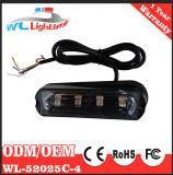 24V 12V 4 LED Linear Module Police Iluminação Exterior intermitente