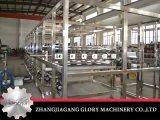 Enchimento líquido e máquina tampando