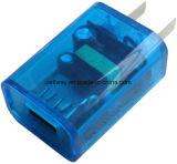 도매 여행 USB 가정 충전기 iPhone를 위한 다채로운 단 하나 운반 전화 충전기