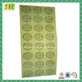 방수 고품질 Custome에 의하여 인쇄되는 플라스틱 스티커