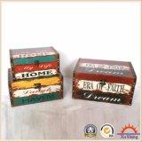 Antike hölzerne Möbel-dekorativer Kasten für Speicherung und Geschenk-Kasten für Geschenke