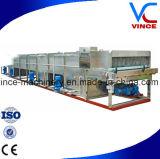 Pasteurizador continuo del túnel del acero inoxidable de la alta calidad para la botella de cristal