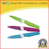 Messer 3PC stellte mit Farbe Sheathkitchen Schnipsel-Messer ein