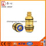 Válvula de cobre amarillo del cartucho