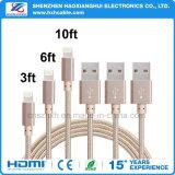 Kabel des Blitz-2.1A für iPhone5 iPhone6 iPhone7