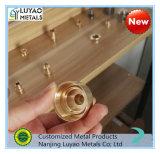 Messing-/Aluminium-/Edelstahl-Präzision CNC, der für industrielle Maschinerie maschinell bearbeitet