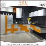 Parte alta de gabinete de cozinha ao ar livre do aço inoxidável da mobília