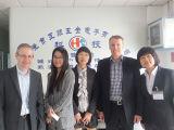 Zubehör-Kohlenstoffstahl-äußere Hexagon-Schraube vom China-Hersteller (HS-HB-001)