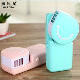 Ventilador de mano de Conditiong del aire ningún mini ventilador del USB de la hoja
