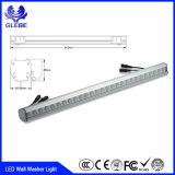 IP65 impermeabilizzano l'indicatore luminoso esterno della rondella della parete del LED per l'illuminazione della costruzione