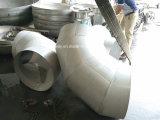 フランジが付いているステンレス鋼の肘の管