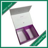 Empaquetado de los cosméticos de impresión de cartón plegable de la caja de papel