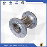 Boyau tressé flexible en métal d'acier inoxydable pour le connecteur de pompe avec des extrémités de bride
