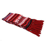 Striped шарф типа с Embroiderey (JRI011)