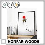 Multi decoração de madeira da arte da parede do frame de retrato