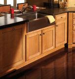 Kundenspezifischer UVGlyoss Qualitäts-guter Haus-Größen-festes Holz-Küche-Schrank