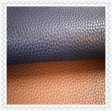 Hochwertiges und Form-Entwurfs-synthetisches Leder für Schuhe (HTS009)